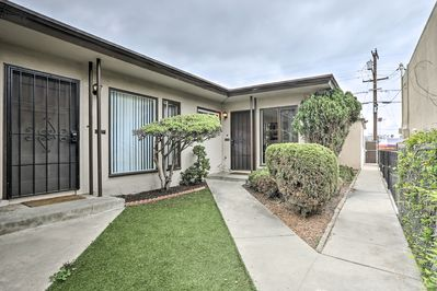 This home is nestled in the heart of the bustling beachside town of Pacific Beach.