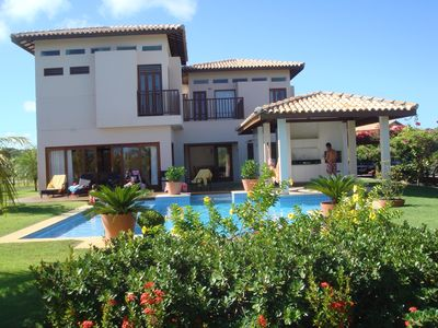 Photo for Luxury Beach House with 4 suites on the Costa de Sauipe