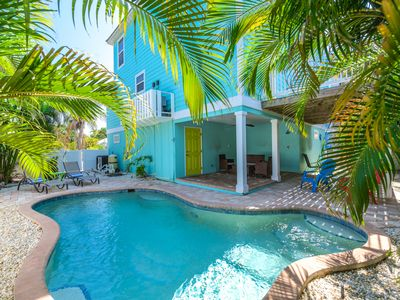 Photo for Great home! One block off the beach, private pool and elevator!