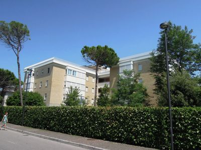 Photo for Cozy apartment in Bibione Pineda, just 80 m from the beach.