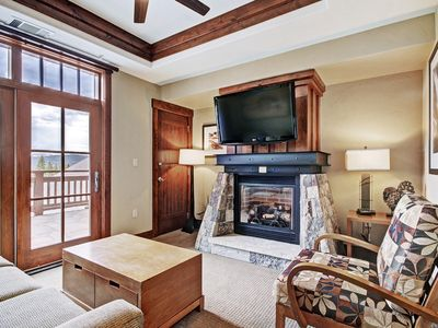 Photo for Luxury Studio Condo Steps from Winter Activities, Sleeps 4!