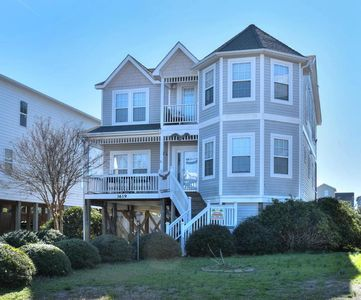 Photo for Beautiful,Curb Appeal 4 BR/2.5 BA Home with Ocean and Sound Views-Sleeps10