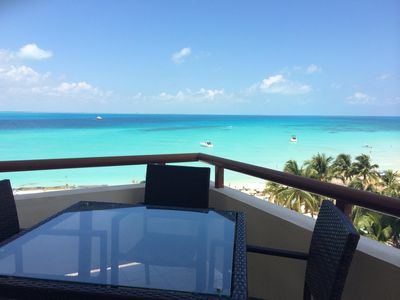 "Photo for *STYLISH REMODEL* Ixchel condo 606 * BEST LOCATION*  6TH FLOOR ""magnificent view"