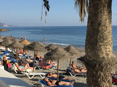 Photo for Nerja center - sea view - beach at 75 m - 2 bedrooms - 1 bathroom - Wifi