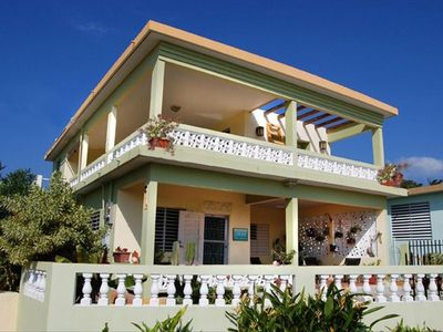 Photo for Casa Almendro Caribbean Views, Walk to Esperanza, Vieques Restaurants & Beaches!