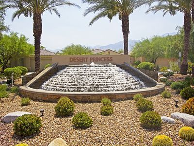 Photo for A beautiful 2 bedroom condo located in the popular Desert Princess Country Club