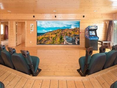 Photo for Enjoy Mountain Views and a Private Home Theater Room - Sleeps 34 Guests