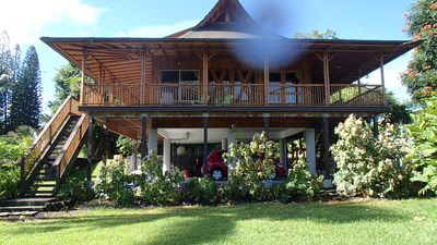Photo for Bamboo Getaway In Hilo Hawaii. Steps To Ocean And Great Snorkeling