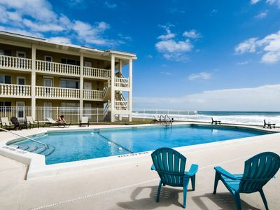 Photo for Waterfront condo w/ shared, heated pool, picnic area, & easy beach access