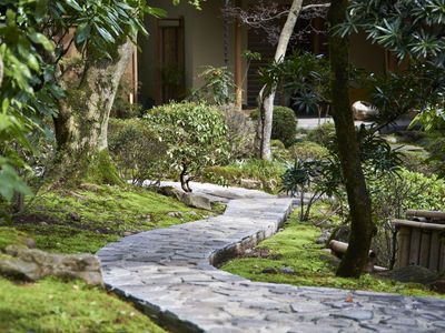 Photo for Atami Hidden Village, Japanese-style room, Japanese garden, nearby Umebori, up to 5 private parking lots, WIFI, public bath