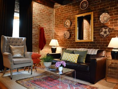 Photo for Stay with Lucky Savannah: Beautiful carriage home, renovated w/ modern décor