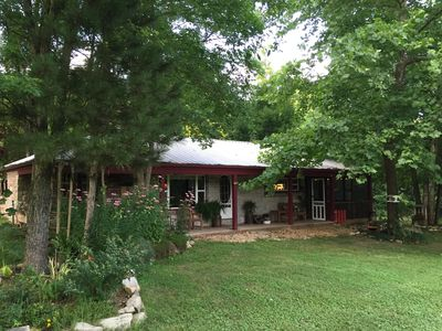 Photo for Beautiful creek and cabin- Private and peaceful- fishing, wildlife- farm