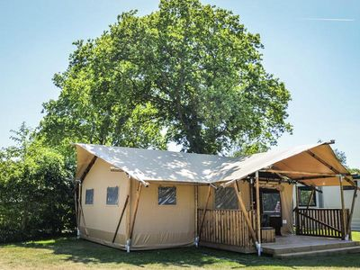 Photo for Camping Le Nauzan Plage **** - Premium Lodge 3 Rooms 5/7 People