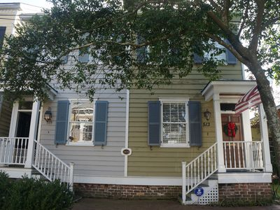 Photo for #1 Rated Luxury Stay in Historic Savannah! Free Parking-Private Yard Dogs Ok