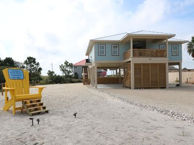 Photo for Gorgeous Gulf views!  4BR and 4BA, Private Pool and Steps to the Gulf...