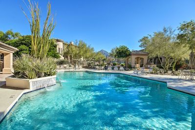 Uncover ultimate relaxation at this 2-bedroom, 2.5-bath condo in N Scottsdale!