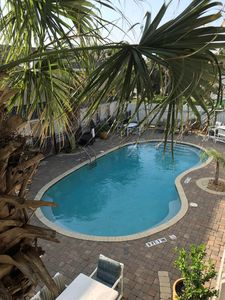 Photo for Secluded Beach Hideaway Poolside 2nd Story Unit