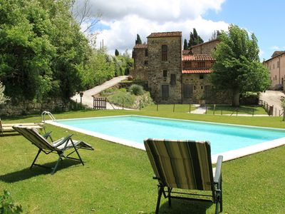 Photo for Vintage Holiday Home with Swimming Pool in Montorsoli