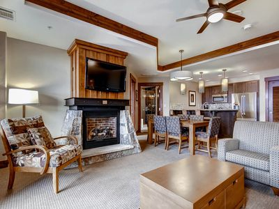 Enjoy the Ultimate Convenience and Amenities in this Ski in Ski out Luxury Condo