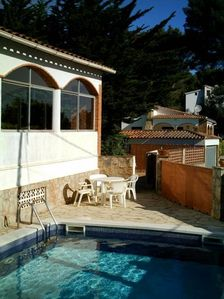 Photo for Semi-detached house with private pool