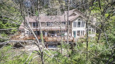 Spacious Home with Expansive decks & private dock!