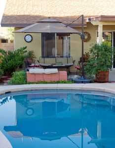 Photo for Ideal Private Oasis In The Sonoran Desert - Perfect Homebase To Travel Or Relax.