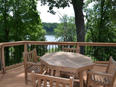 Photo for Lakeview Home Within Walking Distance From Boat Ramp