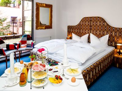Photo for Comfort double room with terrace - artHOTEL Magdeburg GmbH