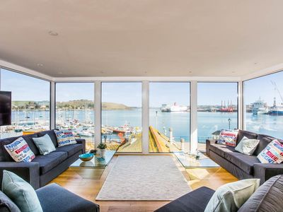 Photo for Stunning newly renovated 5 Star waterfront house in the heart of Falmouth town