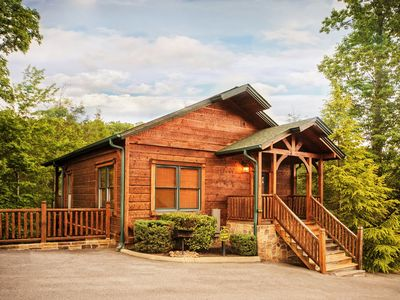 Photo for Luxury 2 Story 1 Bedroom Cabin In Gatlinburg Falls Resort