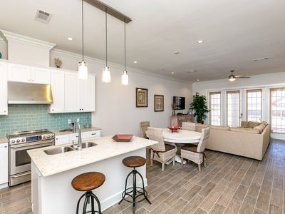 Photo for Fall Savings! Luxurious New 2BR Condo – Steps to Beach, Pool & On-Site Dini