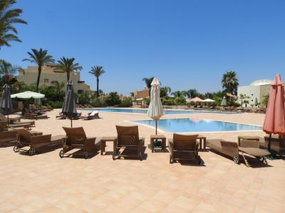 Our lovely pool area.