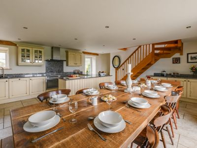 Photo for Vacation home Llety'r Mynach in Abersoch - 14 persons, 5 bedrooms