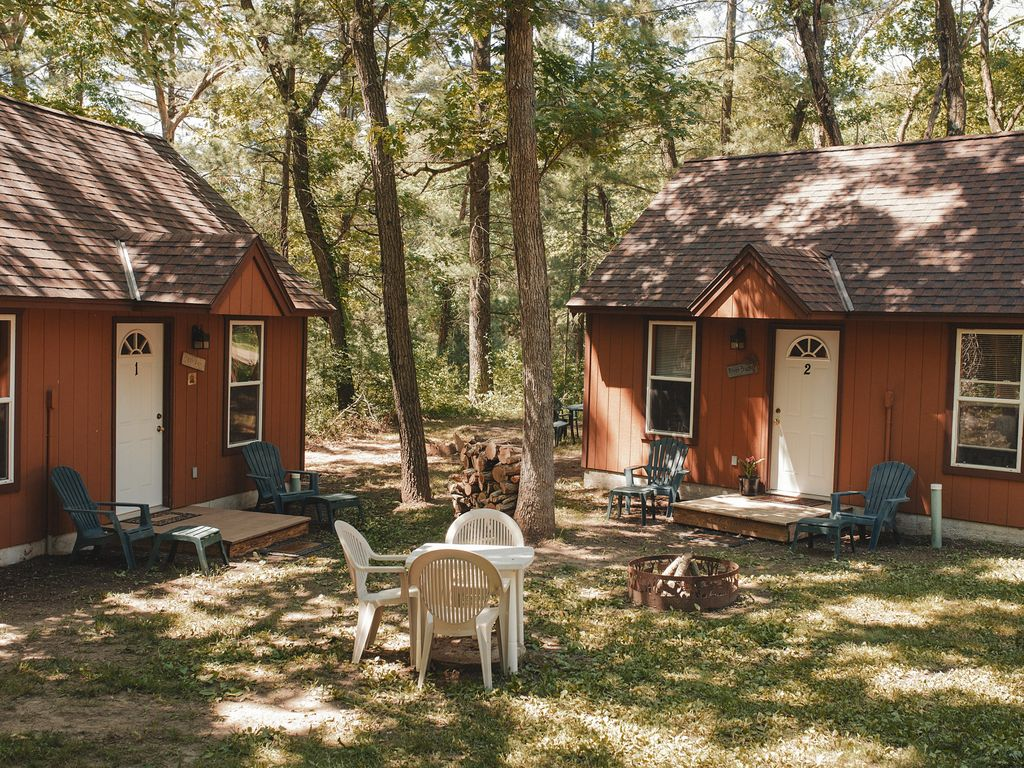quiet cabin rustic yards rosholt area city of rent from on image wisconsin ha beach grimaud lake luxury the deal a port s conservation property in bed home cabins fish rock