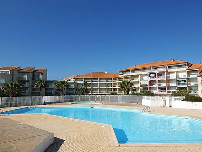 Photo for 2 bedroom Apartment, sleeps 5 in Saint-Cyprien-Plage with Pool and WiFi