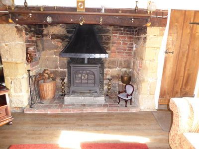 Photo for Grade 11 listed cottage in Pett Village, wealth of character, beams, inglenook