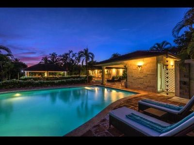 Photo for Walk to the Beach! Casa De Campo  5 BR - 5.5 BA   Los Lagos 72