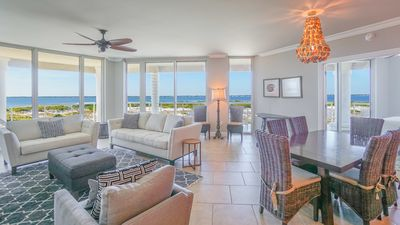 Photo for Portofino 3B Terrace with Gulf Views Tower 3-507