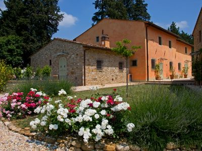 Photo for Chianti traditional country Villa