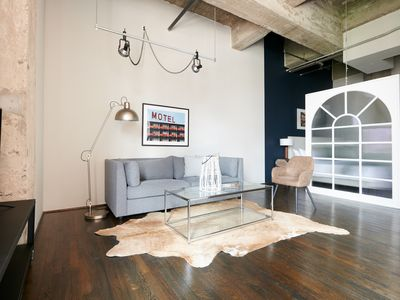 Photo for Sonder | The Hogg Palace | Industrial 1BR + Gym