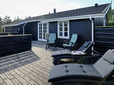 Photo for Modern Holiday Home near Jerup with sheltered terrace