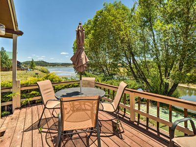 Photo for Lakefront Pagosa Springs House w/ Deck & Views!