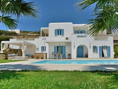 Photo for LUXURY VILLA EDEN WITH POOL AND SENSATIONAL VIEW, 300M FROM AMAZING BEACH