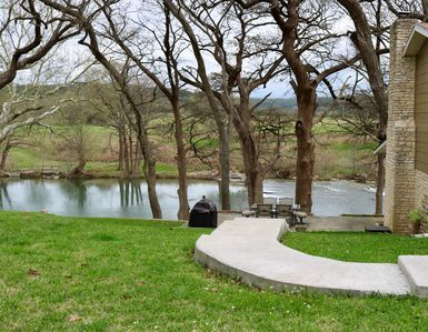 Photo for Picturesque and Peaceful 4B on the Guadalupe River - Take in the Waterfall Sound