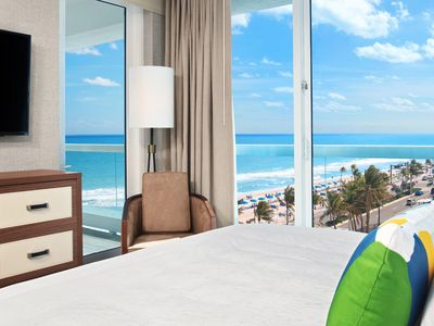 Photo for Ft Lauderdale Beach 1114 | Two Bedroom | Oceanfront + Island Kitchen