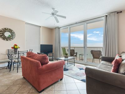 Photo for New Listing! Vacation is better w/ a view! Oceanfront condo, free WiFi, 4 pools!