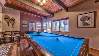 Pool Table Room (pool table has top to be used as dining table)
