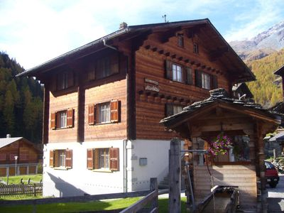 Photo for Holiday apartment Les Haudères for 1 - 6 persons with 3 bedrooms - Holiday apartment in a two family