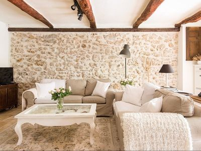 Photo for Romantic Cottage • French Village • Provence • Walking distance to shops
