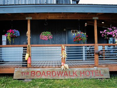 Photo for Seldovia Boardwalk Hotel - Waterfront Rooms Available